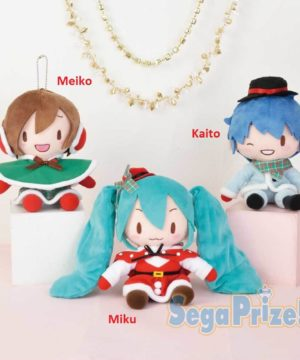 Vocaloid Christmas Fluffy Plush