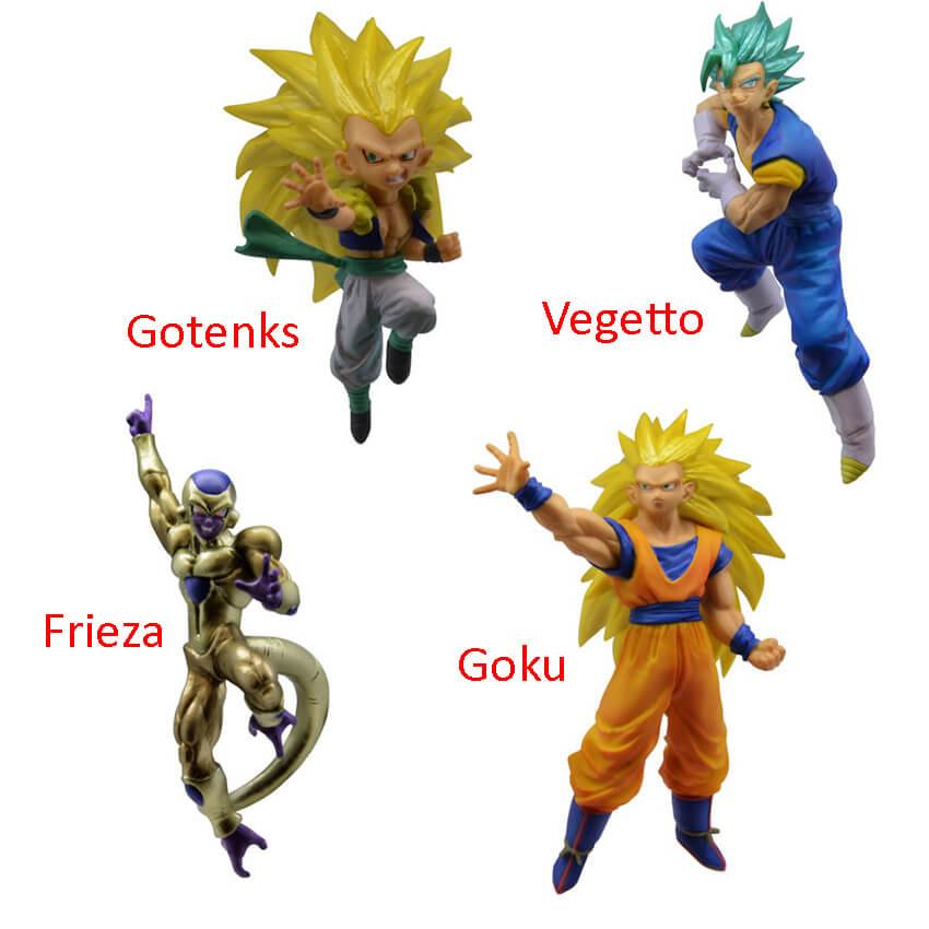 Bandai Dragon Ball Battle Mini Figure Series