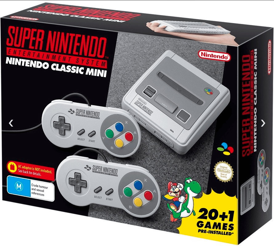 Nintendo Classic Mini SNES Super Nintendo Entertainment System 9318113990356 | eBay