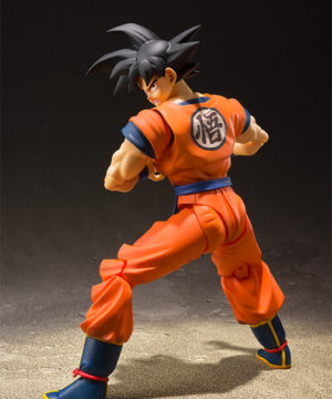 SH Figuarts Goku A Saiyan Raised on Earth