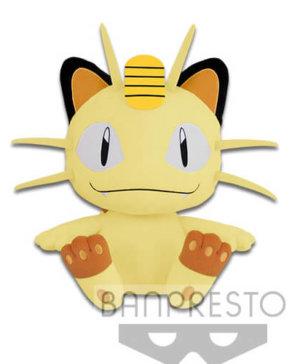 Banpresto Pokemon Meowth Big Plush