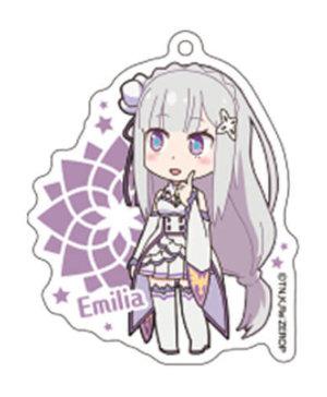 Sega Re Zero Emilia Acrylic Ballchain