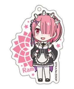 Sega Re Zero Ram Acrylic Ballchain