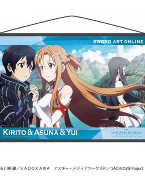 Sword Art Online Ordinal Scale - B2 Wall Scroll B