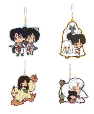 InuYasha Pair Rubber Strap Rumic Collection
