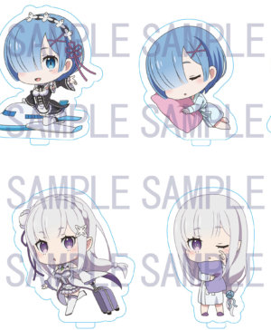Re Zero Hotel Collaboration Acrylic Stand