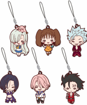 The Seven Deadly Sins Nitotan Rubber Mascot