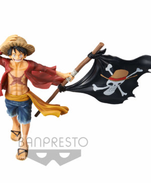 Banpesto One Piece Luffy Magazine Figure