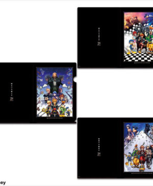 Kingdom Hearts Set of 3 Clear Files