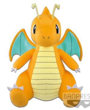 Pokemon Dragonite Super Big Plush