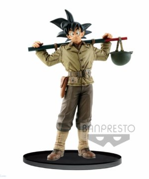 Dragon Ball Z BWFC Goku Military Uniform
