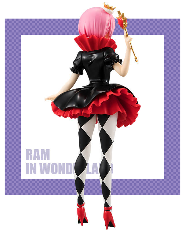 furyu Re Zero Starting Life in Another World SSS figure RAM in Wonderland