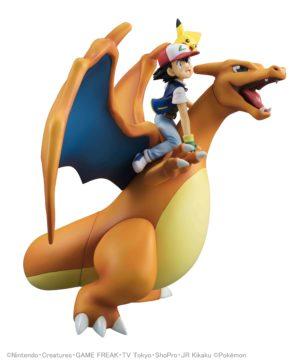 GEM Series Ash Pikachi Charizard