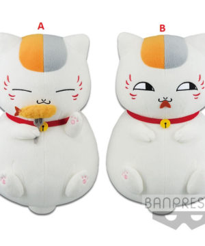 Nyanko-Sensei Eating Big Plush