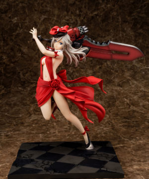 Alisa Ilinichina Amiella Crimson Anniversary Dress