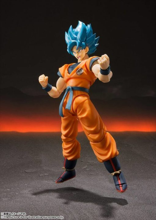 FIGUARTS Dragon Ball Super SSGSS Goku Super