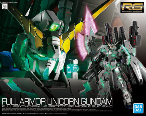 RG Full Armor Unicorn Gundam