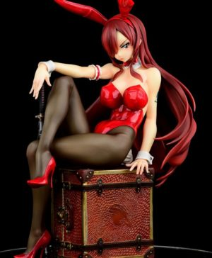 Fairy Tail Erza Scarlet Bunny Girl_Style Type Rosso