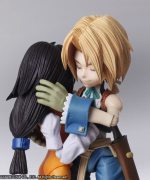 Final Fantasy IX Bring Arts™ Zidane Tribal & Garnet Til Alexandros 17th [Action Figure]