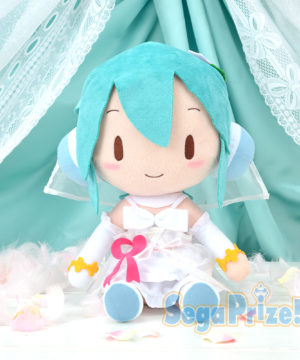 Hatsune Miku White Dress Plush