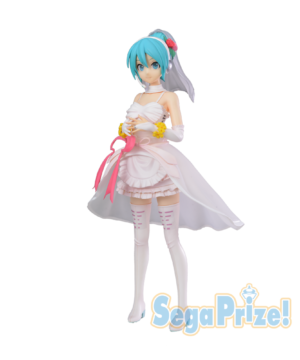 Hatsune Miku White Dress SPM Figure SEGA