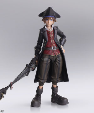Kingdom Hearts III Bring Arts Sora Pirates of the Caribbean