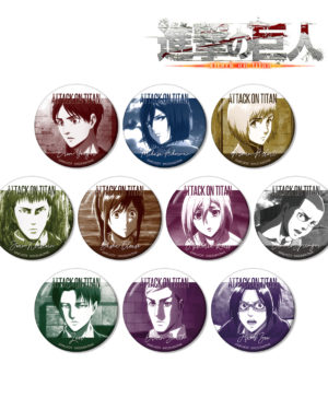 Attack on Titan Trading Can Badge