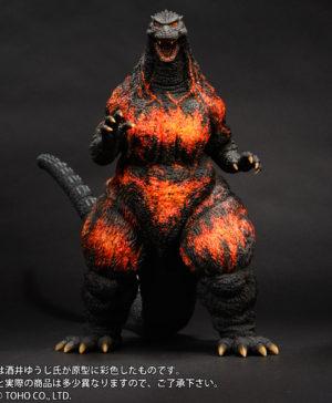 Godzilla vs Destoroyah Godzilla 1995 Lanidng in Hong Kong