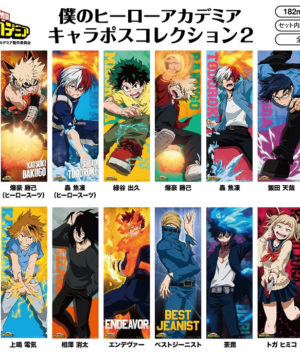 My Hero Academia Character Poster Collection 2
