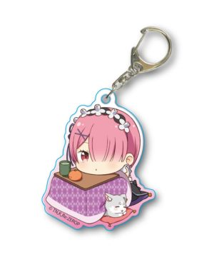 Re Zero Ram Kotatsu Acrylic Key Chain