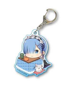 Re Zero Rem Kotatsu Acrylic Key Chain