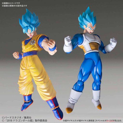 Dragon Ball Super - Super Saiyan Goku Figure-Rise Model Kit