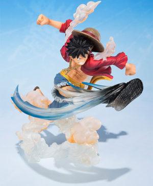 FIGUARTS ZERO One Piece Luffy Gum Gum Hawk Whip