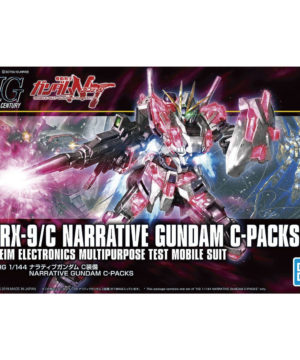 HG NARRATIVE GUNDAM C-PACKS