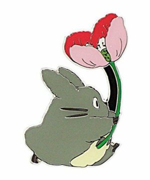 My Neighbor Totoro - Totoro with Big Flower Magnet