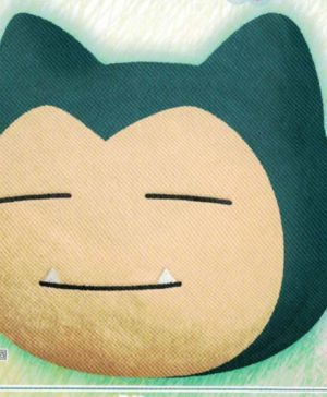 Pokemon Snorlax Face Cushion Banpresto