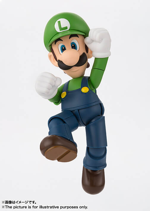 S.H.FIGUARTS Super Mario Luigi