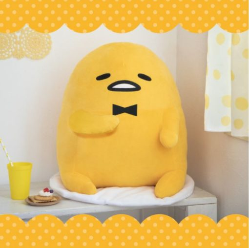 Gudetama Bow Tie Super Big Plush
