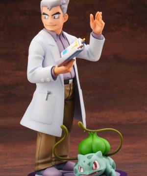 Pokemon Professor Oak with Bulbasaur ARTFX J