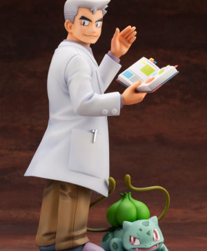 Pokemon Professor Oak with Bulbasaur ARTFX J