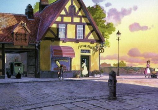 Kiki's Delivery Service Guchoki Bakery Museum Collection A6 Postcard