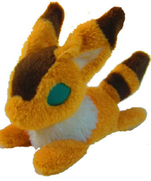 Laputa Castle in the Sky - Fox Squirrel Beanbag Plush