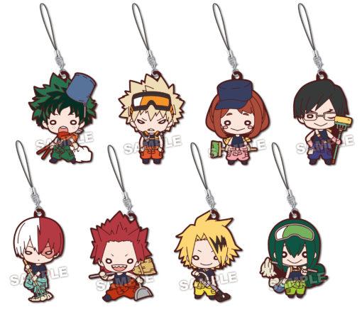 My Hero Academia Nitotan Osoujitai Rubber Mascot