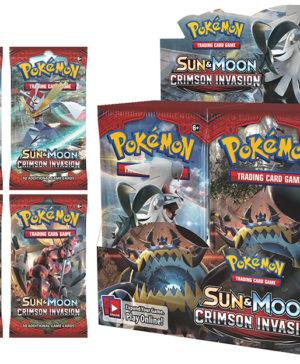 POKÉMON TCG Sun & Moon Crimson Invasion Booster