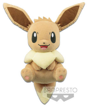 Pokemon I Love Eevee – Eevee Relaxing Plush