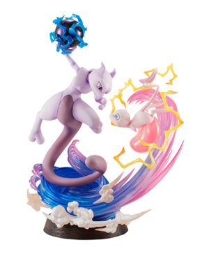 Pokemon Mew Mewtwo GEM EX Series