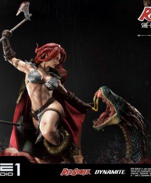 Red Sonja She-Devil with a Vengeance Red Sonja DX Statue MMRS-01DX