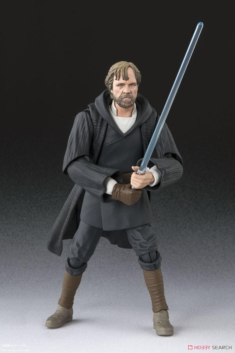 BANDAI S.H.Figuarts Star Wars Luke Skywalker THE LAST JEDI Authentic US Seller