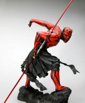 Star Wars Darth Maul Japanese Ukiyo-e Style ARTFX Statue