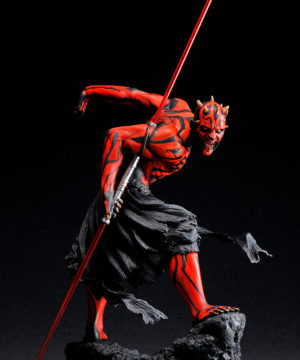 Star Wars Darth Maul Japanese Ukiyo-e Style ARTFX Statue
